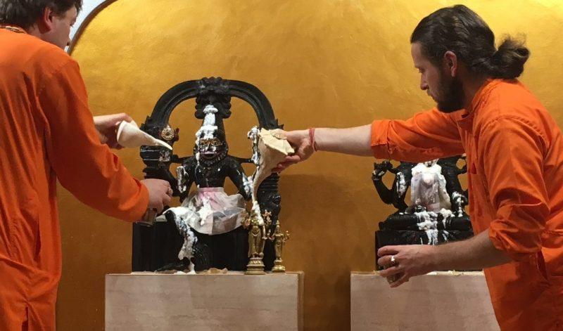 Spotkanie ze Swamim VishwaAnashuyanandą w Warszawie